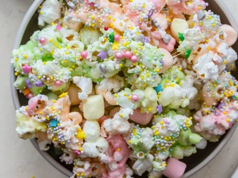 Marshmellow Unicorn Popcorn recipe