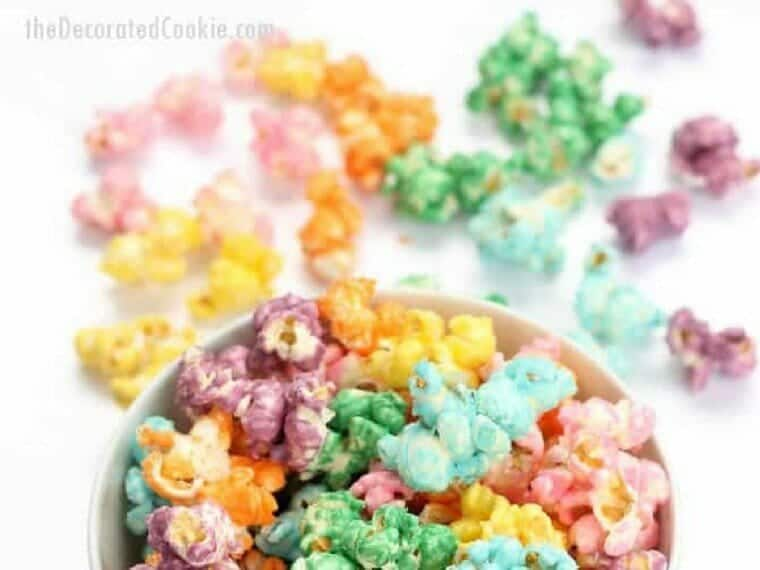 Rainbow Unicorn Popcorn recipe