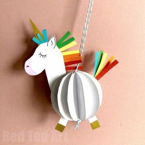 Unicorn Paper Decorations