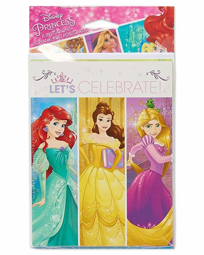 American Grettings Disney Princess Party Invitations