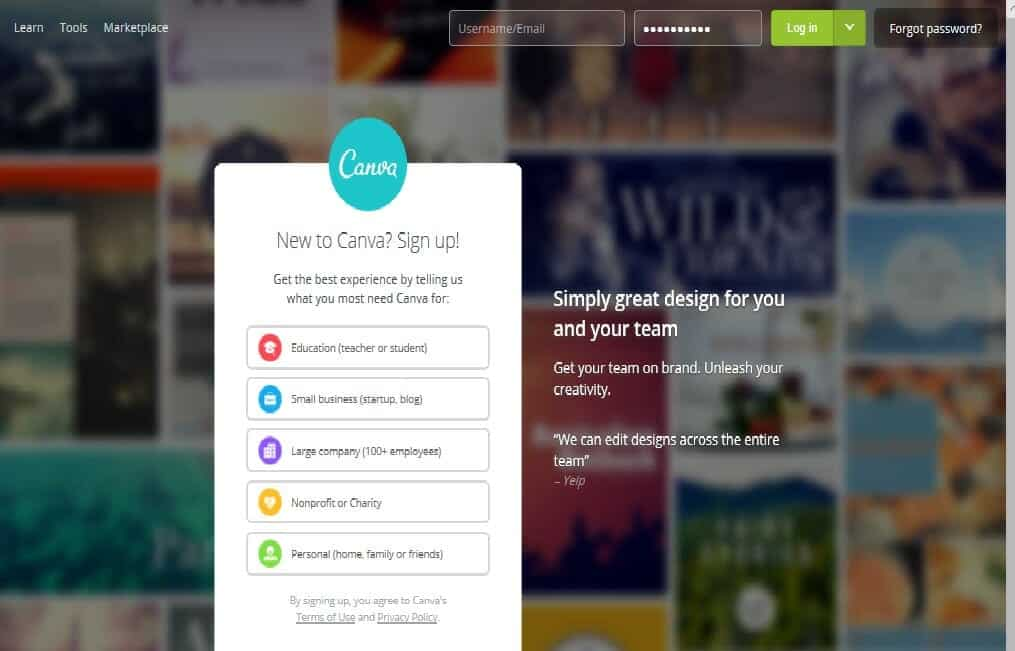Use Canva to customis party Invitations