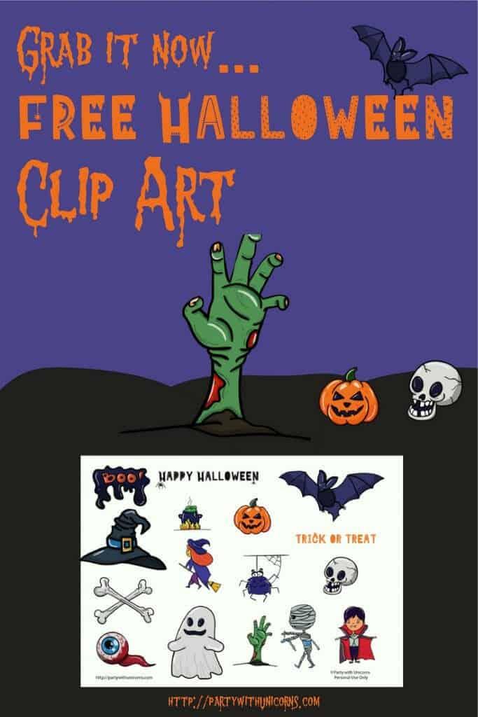 Free Halloween Clip Art Set