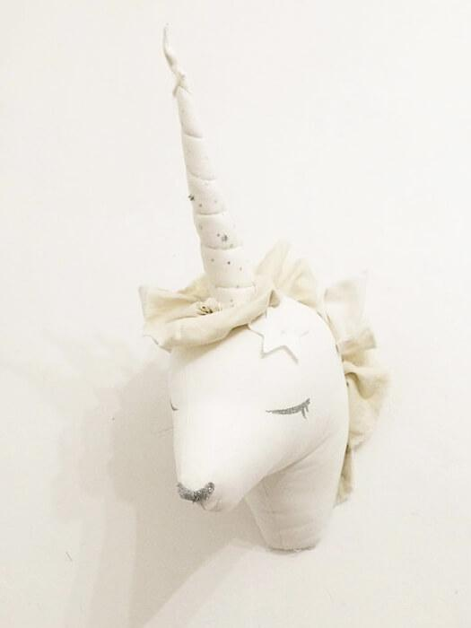 Hanging Unicorn Plush Wall Decor