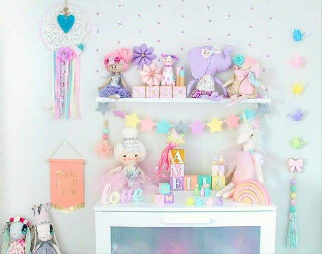 Pastel Unicorn Bedroom