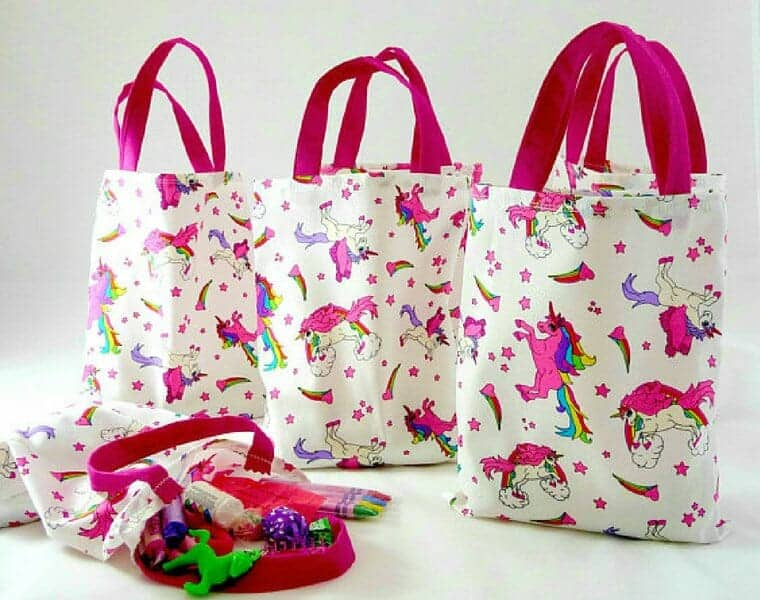 Unicorn Toy Bags