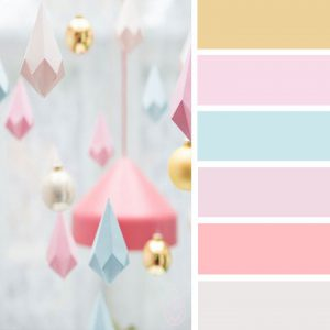Pastel color pallet ideas