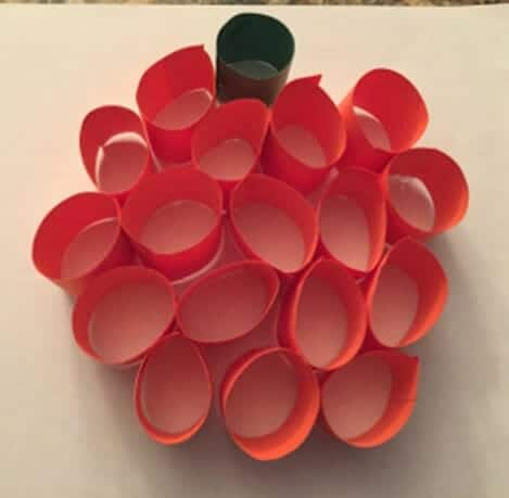 3d Pumpkin Craft