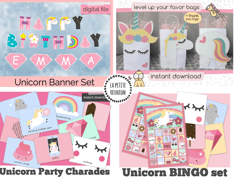 Unciorn Party Supplies