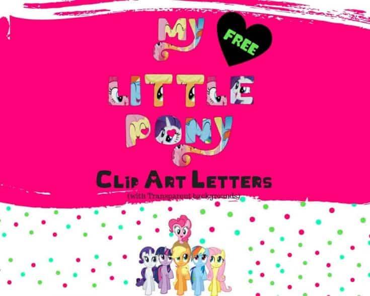 My Little Pony Alphabet - Free Download