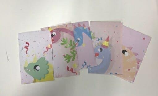 Dinosaur Envelopes