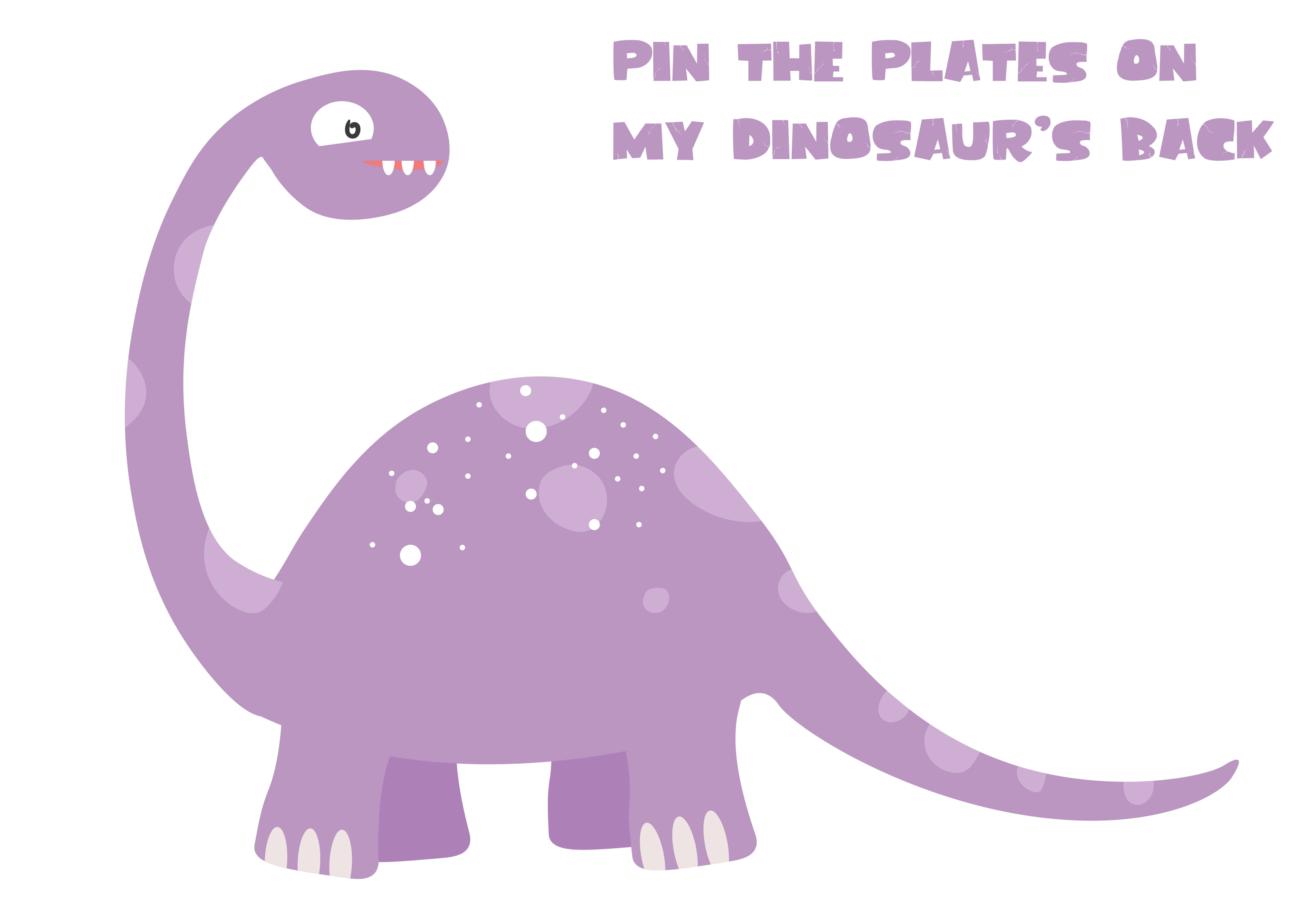 pin the tail on the dinosaur template - pin the tail on the dinosaur template image collections