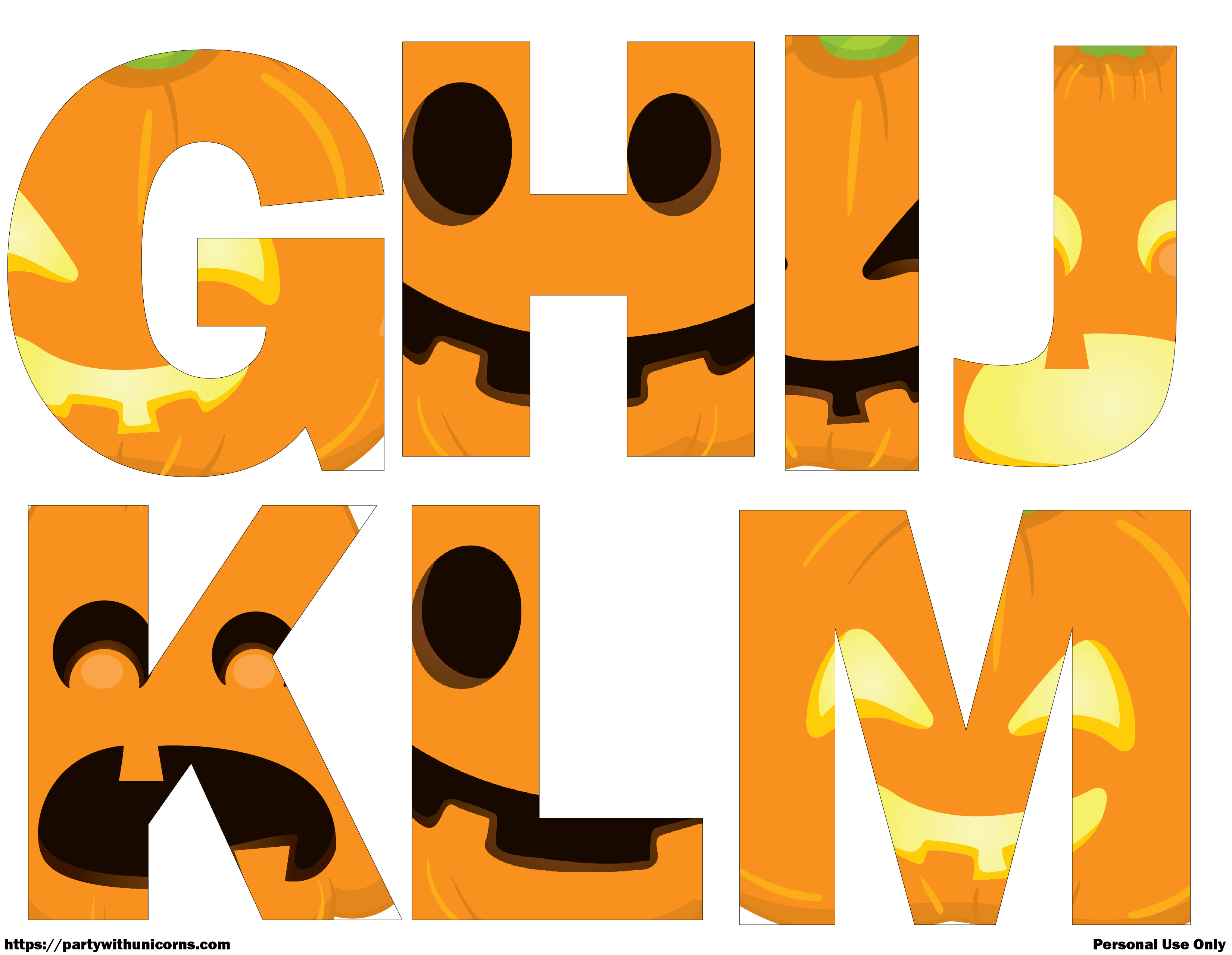 Impeccable image throughout halloween letters printable