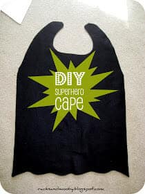No_Sew_Superhero_Cape