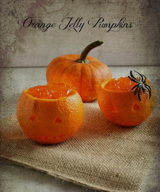 Orange Jelly Pumpkins