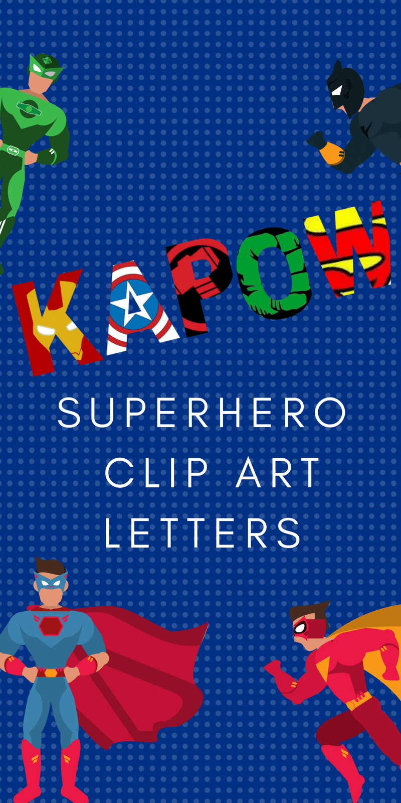 photo regarding Free Printable Clip Art identified as Free of charge Printable Superhero Alphabet Letters