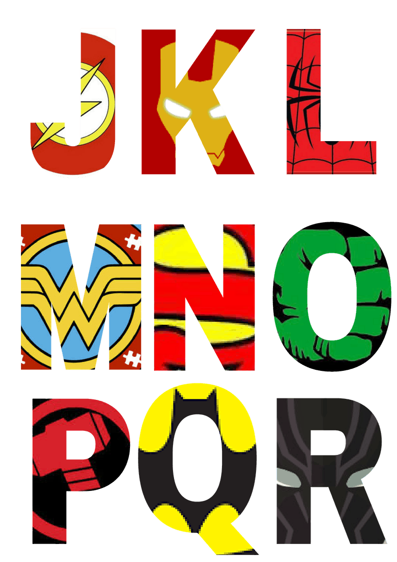It is an image of Gutsy Super Hero Printables