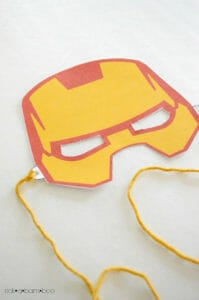 free printable superhero masks