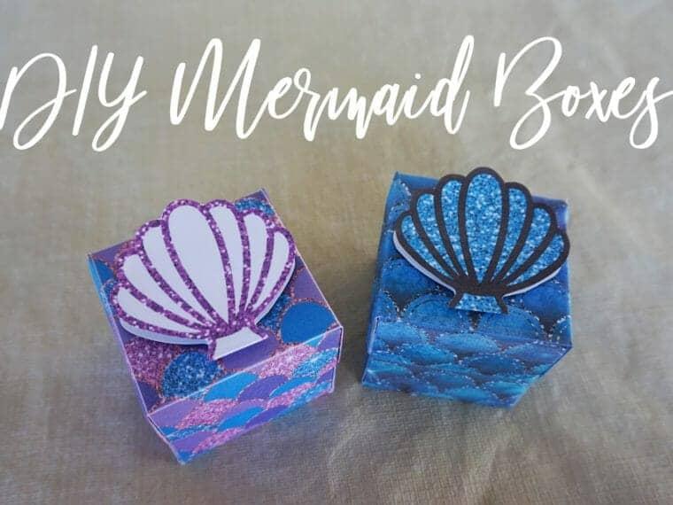Mermaid Favor Boxes