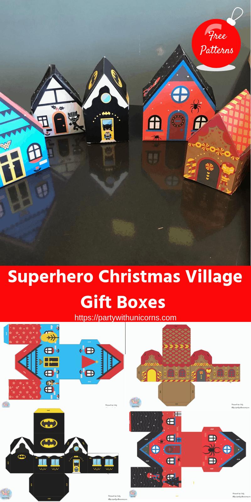 Superhero Christmas Decorations