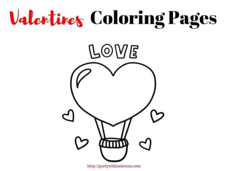 Valentines Coloring Pages - Free Coloring Pages for Kids