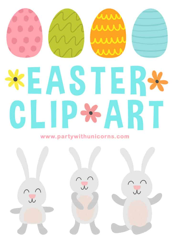 Easter Clip Art Set Cover