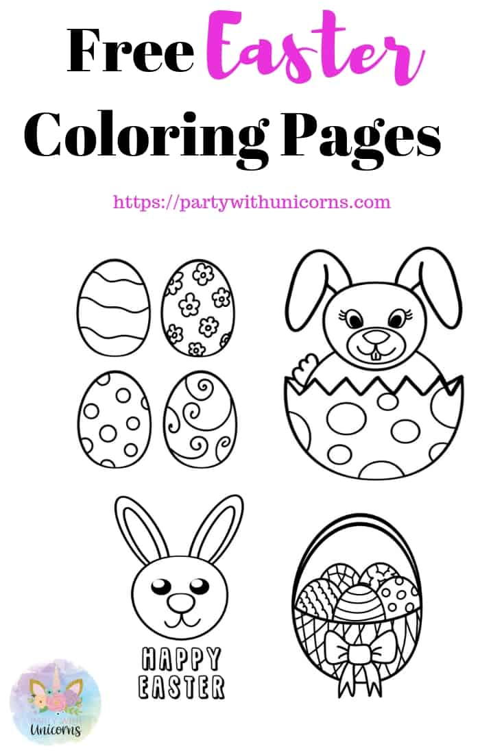 Easter Coloring Pages Cover