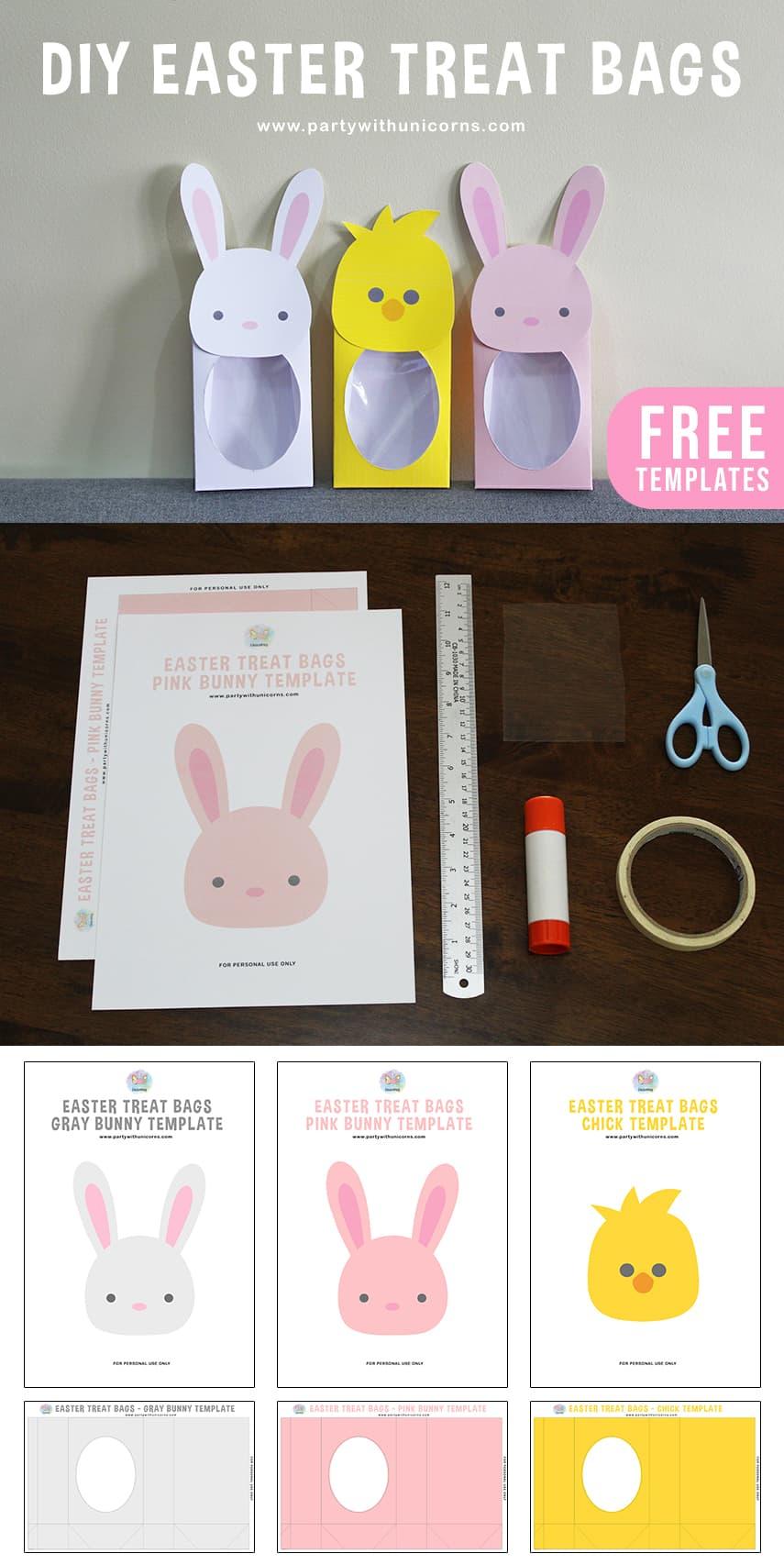 Easter Treat Bags Pinterest Tile Cover