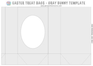 Easter Gift Bag Template