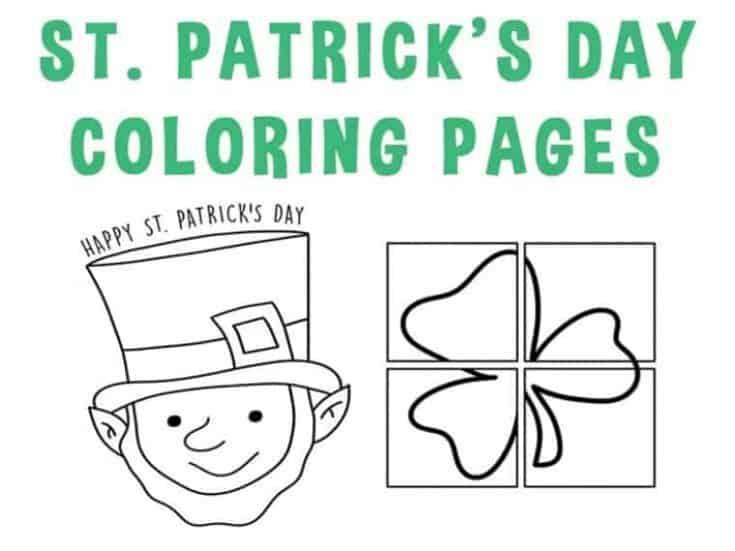St Patrick Day Coloring Sheets