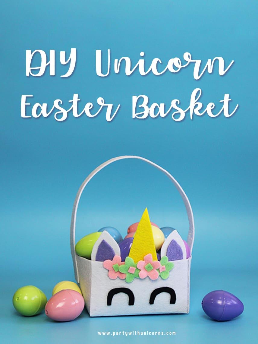 Unicorn Easter Baskets