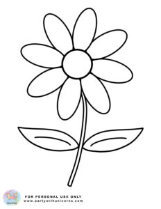 Spring Coloring pages Flower