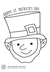 st patrick day coloring sheets 3