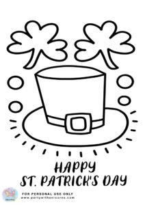 st patrick day coloring pages 4