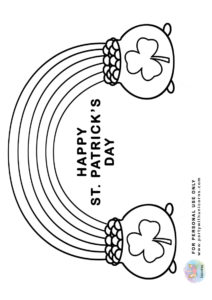 st patrick day coloring sheets 5
