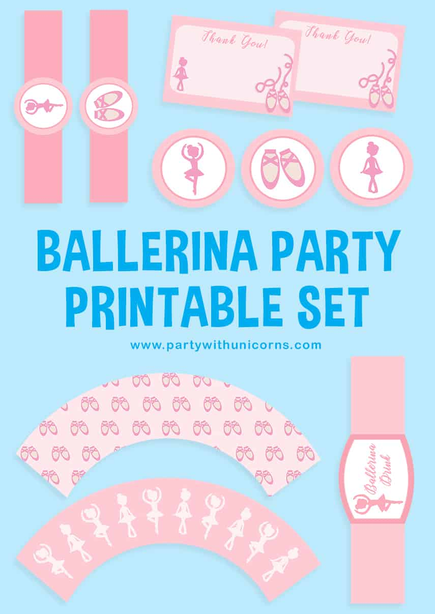 Ballet Party Printables