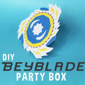 Beyblade Party Box Featured Image