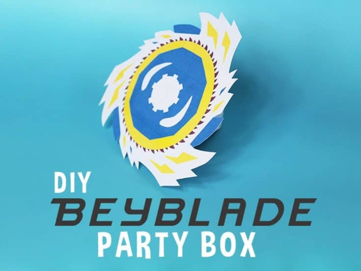 Beyblade Party Favor Bo