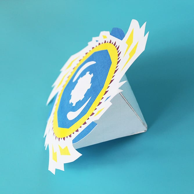 Beyblade Favor Box