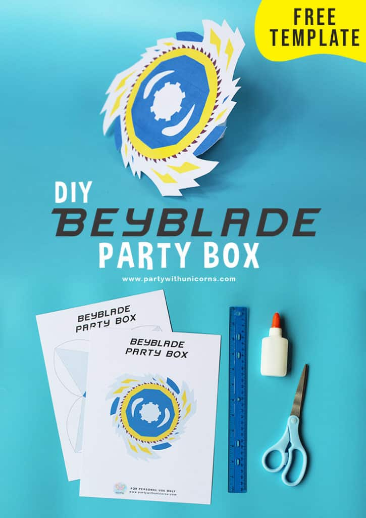 Beyblade Party Box Pinterest Tile