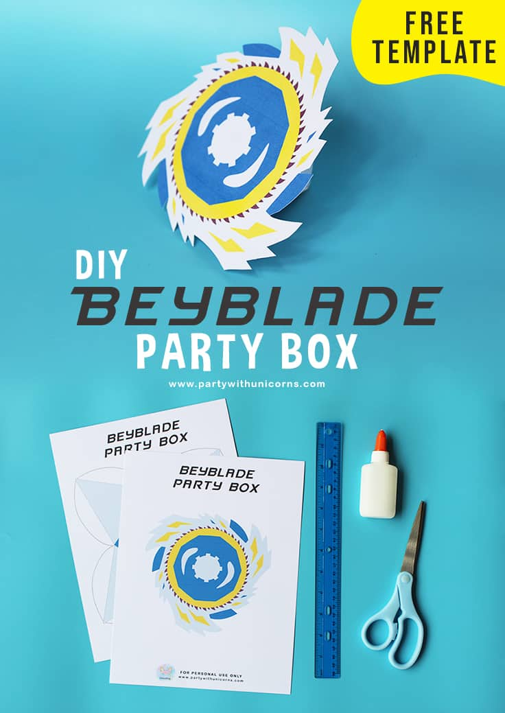 Beyblade Party Favor