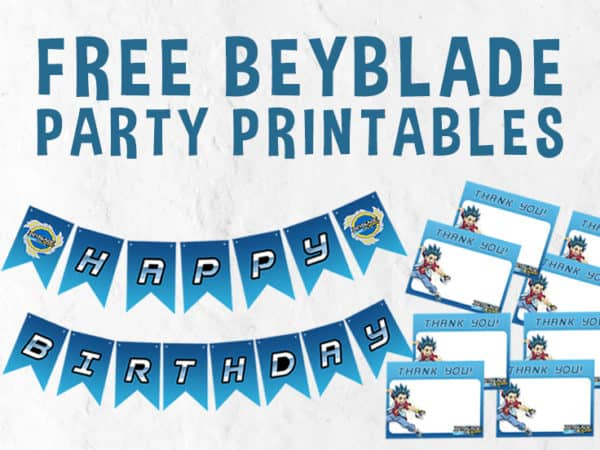 Beyblade Printables Featured Image