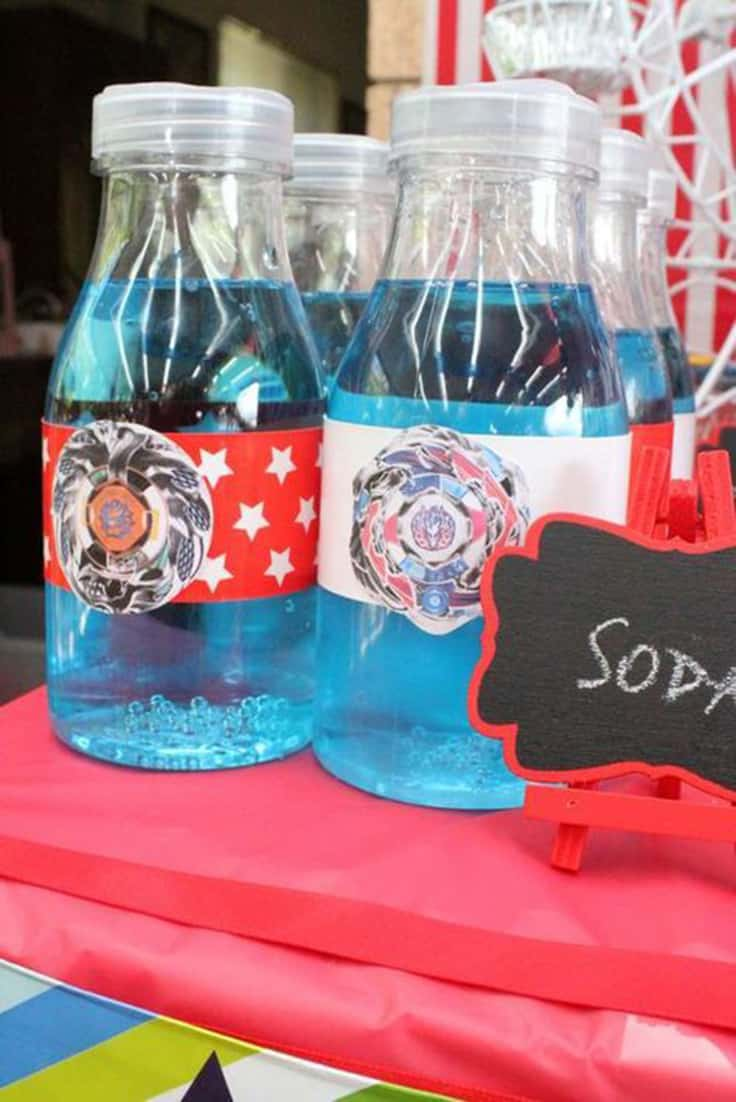 Beyblade Soda Drink