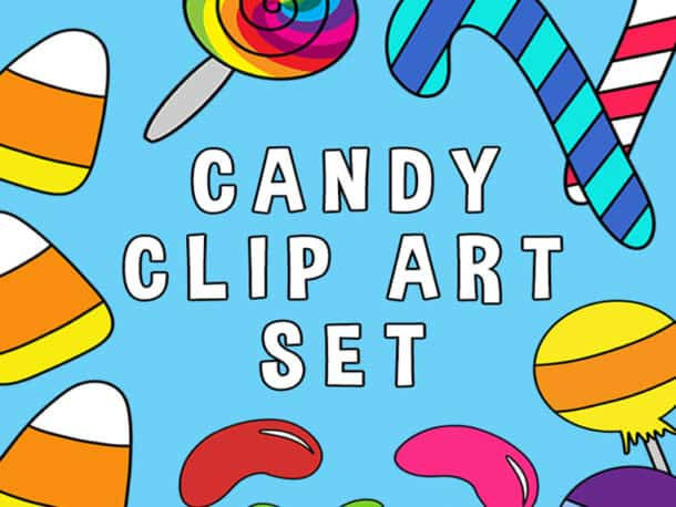 Candy Clip Art Featured Photo