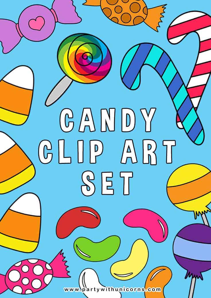 Candy Clip Art Pinterest Tile