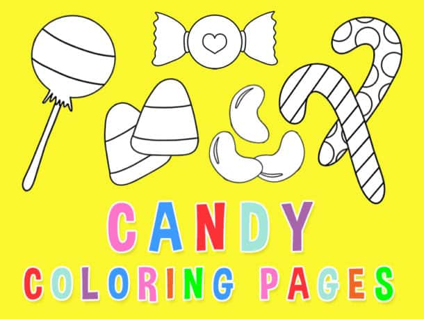 Candy Coloring Pages Featured Photo