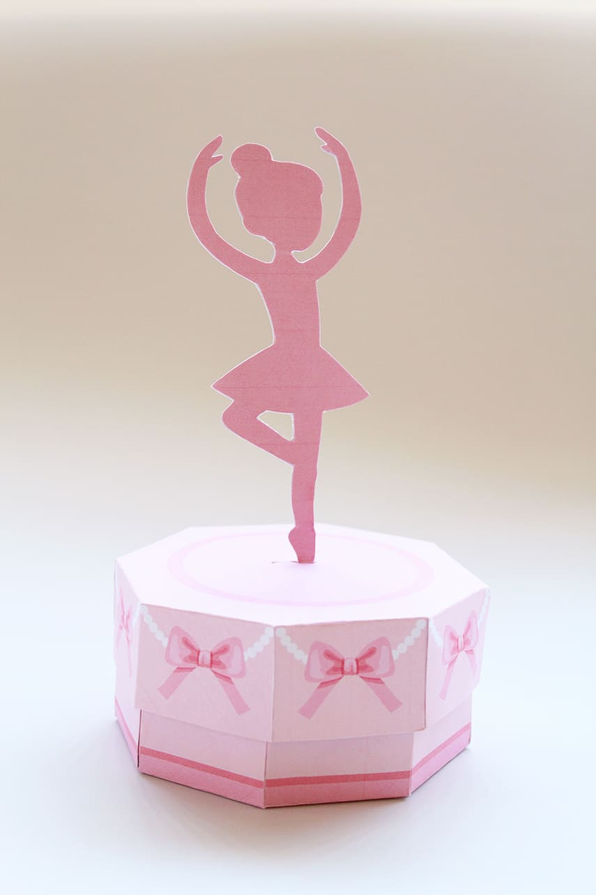 DIY Ballerina Music Treat Box Final Photo 1