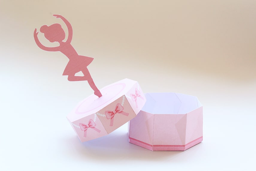 DIY Ballerina Music Treat Box Final Photo 2