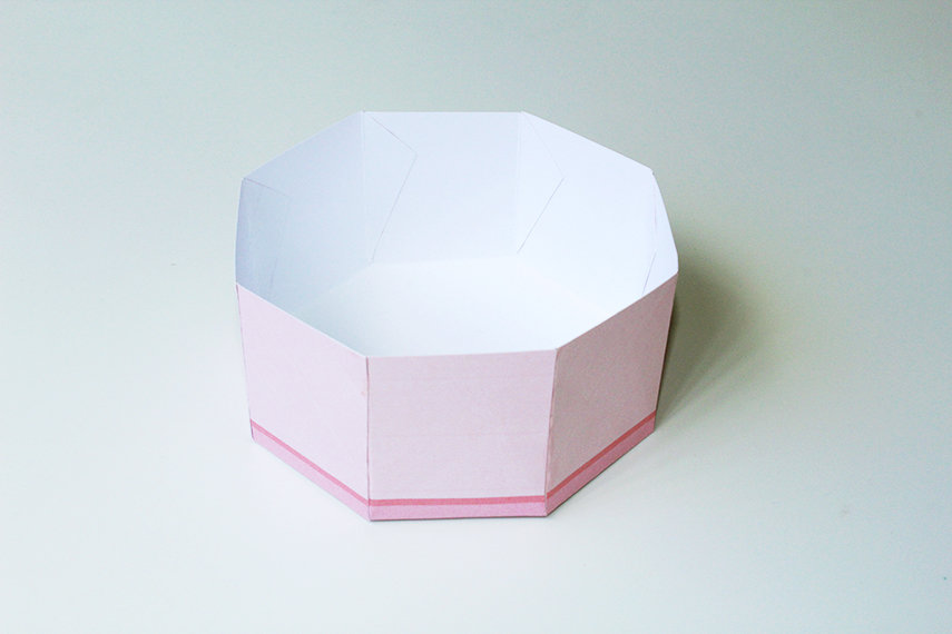 DIY Ballerina Music Treat Box Step 4