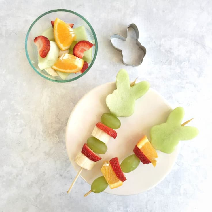 Easter Fruit Kabob