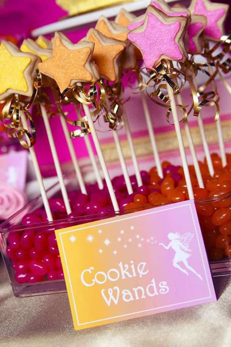 Fairy Cookie Wands